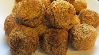 Low Fat Vegan No Oil Rice Balls Aka Meatless Meatballs
