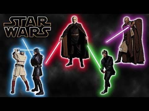 Different Lightsaber Combat Forms (Canon) - Star Wars Explained
