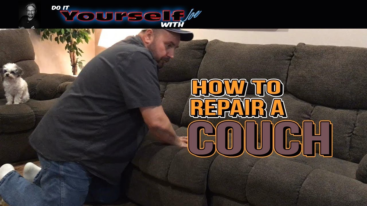 how to repair a couch