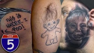 Top 5 Most Painful Places To Get Tattoos