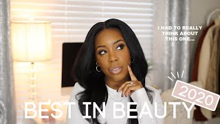 BEST IN BEAUTY 2020 (QUARANTINE EDITION) | PRODUCTS I USED *THE MOST* IN 2020 | Andrea Renee