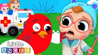Animal Rescue Team | Vet Emergency & More Kids Songs by Little Angel