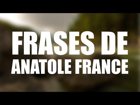 Las 10 mejores frases de ANATOLE FRANCE