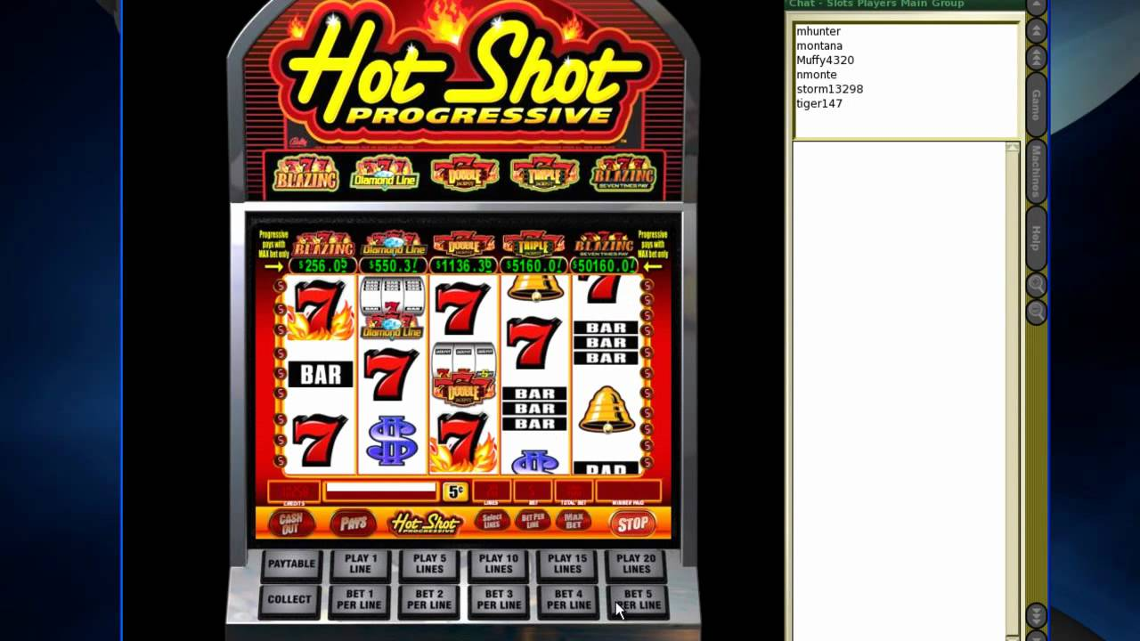 hot shots casino game online