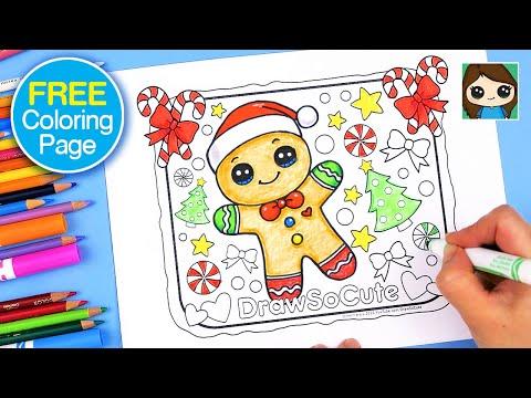 Christmas Coloring Page 🎄 FREE Printable