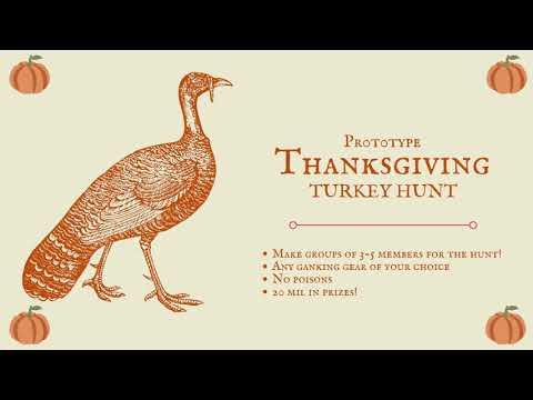 Thanksgiving Turkey Hunt!