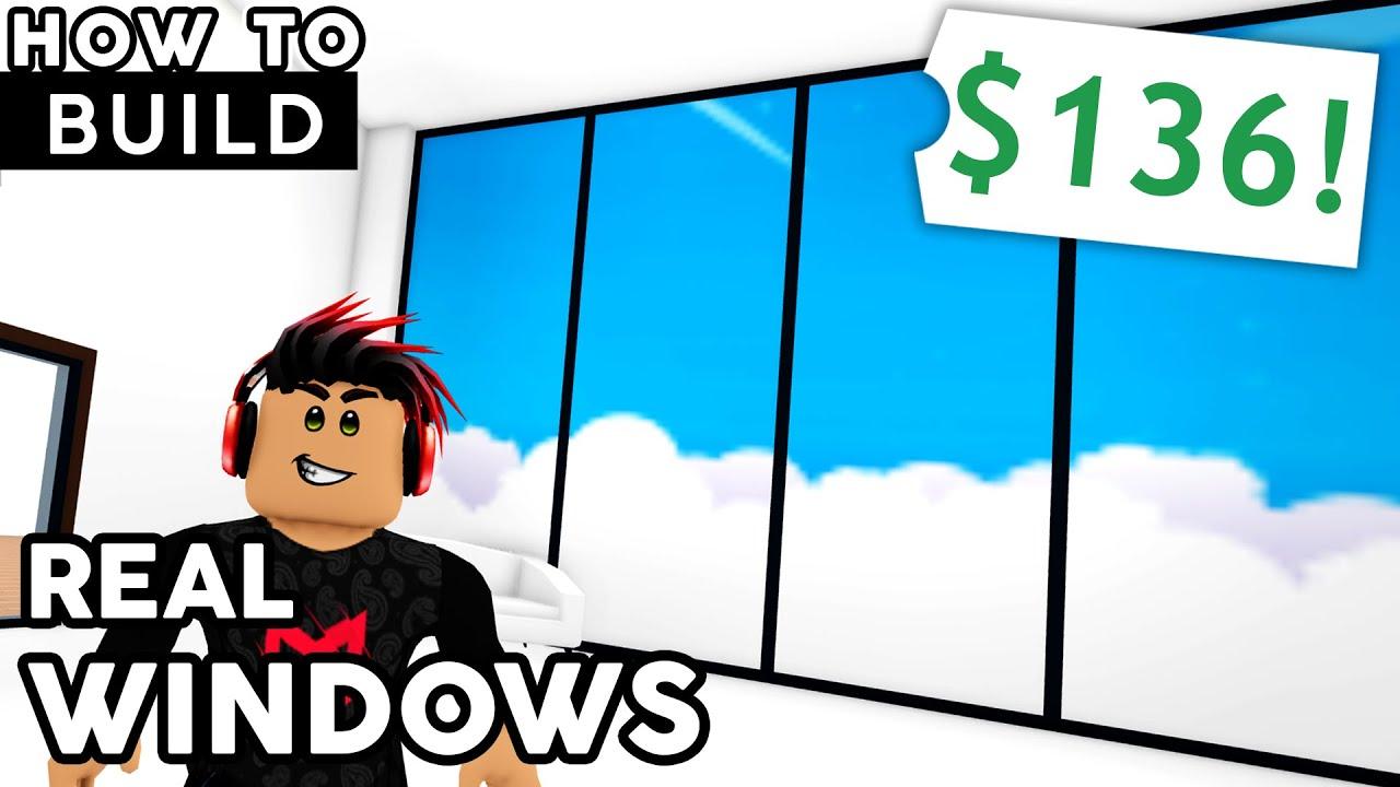 REAL WINDOWS! Adopt Me Speed Build & Tutorial