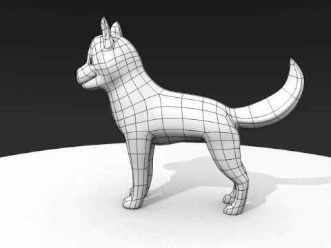 Blender Cartoon Dog Youtube