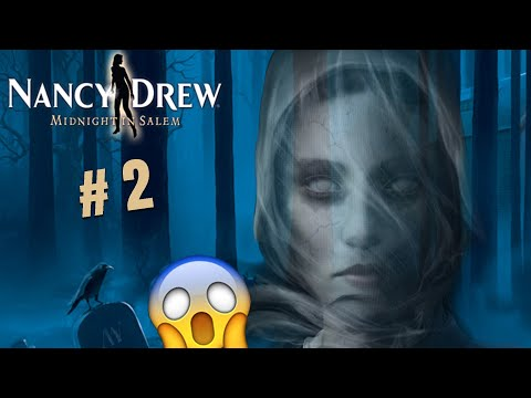 Nancy Drew: Midnight in Salem - SCARED FOR MY LIFE #2 (Let's Play/Playthrough)