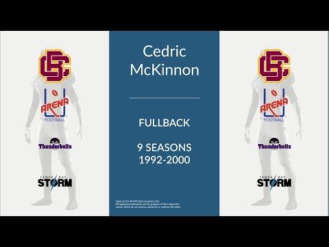 Cedric McKinnon: Football Fullback and Linebacker