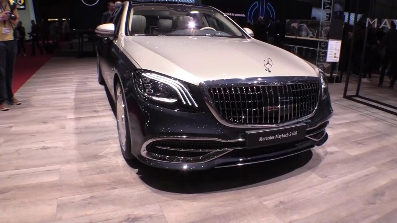 Mercedes Maybach Clase S Salón De Ginebra 2018 Youtube