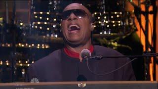 Stevie Wonder - Sir Duke on The Tonight Show 2014