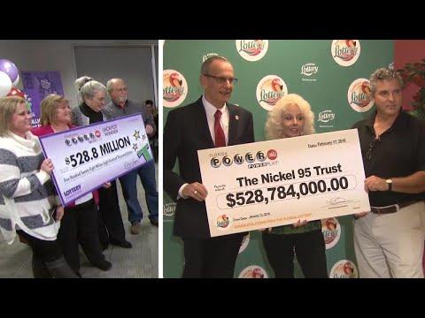 Meet Winners of America's 3 Largest Lottery Jackpots