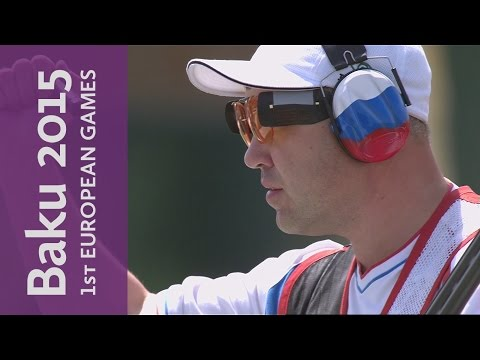 Men's Trap Semi-Final & Final | Shooting | Baku 2015 European Games