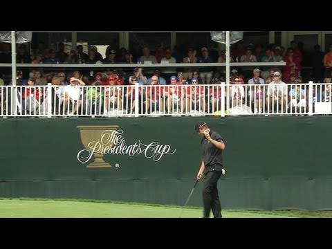 Leishman birdies No. 12 on Day 4 of The Presidents Cup