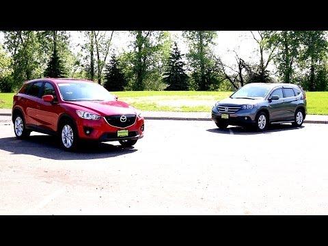 2015 Mazda CX-5 Vs. Honda CR-V | Model Comparison | Morrie's Minnetonka Mazda, MN