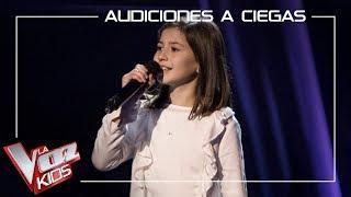Claudia Martínez canta 'This is me' | Audiciones a ciegas | La Voz Kids Antena 3 2019