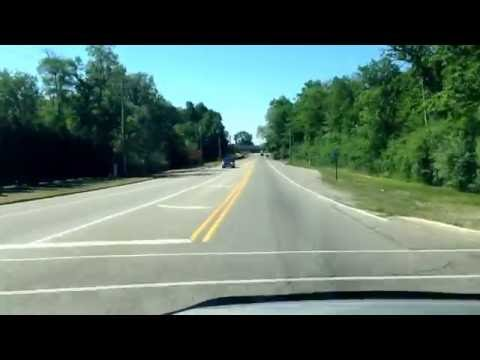 Driving from Shelby Township, Michigan to Saint Clair Shores, Michigan