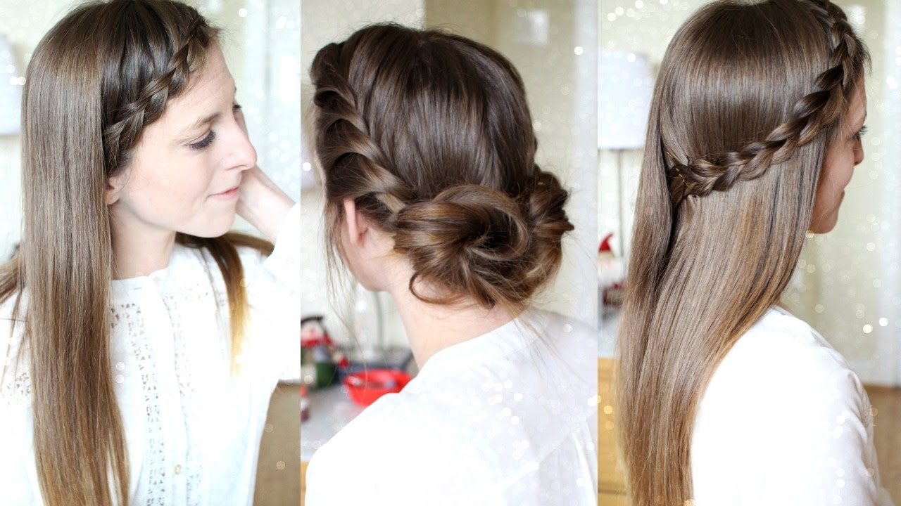 3 Quick And Easy Heatless Hairstyles Pretty Hairstyles