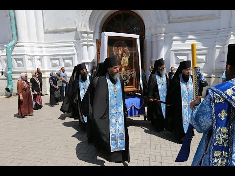 Проводы Святогорской иконы Божией Матери для участия в Крестном ходе из Винницы в Киев