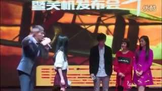 电影《我们的十年》杀青会  赵丽颖乔任梁吴映洁上演痴缠校园恋 (Zhao Li Ying, Kimi Qiao, GuiGui Wu Ying Jie)
