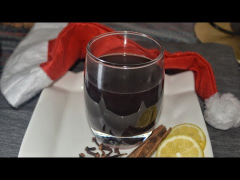Non Alcoholic Mulled Wine||Christmas Special Mulled Wine Recipe|| Recipe No:26