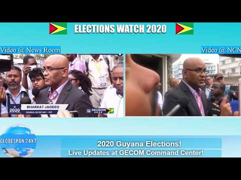 Guyana Police Surround Elections Office