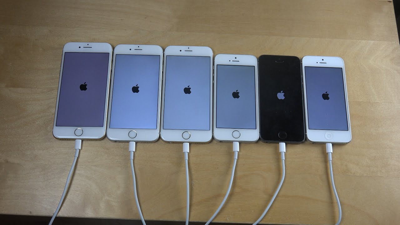 iPhone 7 vs. iPhone 6S vs. iPhone 6 vs. iPhone SE vs ...Iphone 5 6 7
