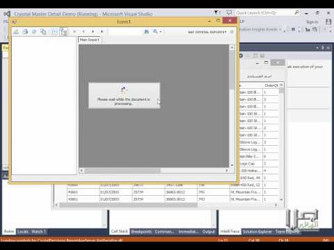 08 Parameter Fields and Special Fields in Crystal Reports(Arabic)
