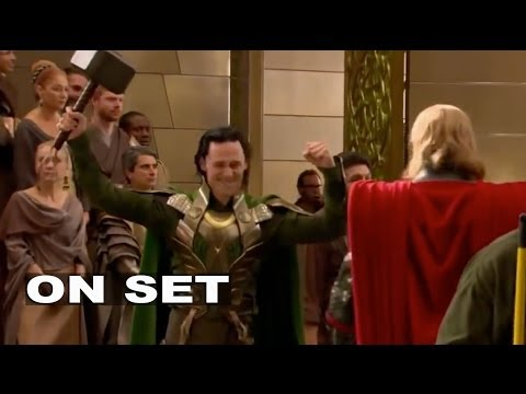 Thor: Tom Hiddleston 'Loki' Behind the Scenes (Broll)