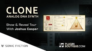 CLONE Analog Synth - Max For Live Device By Sonic Faction - Show Reveal