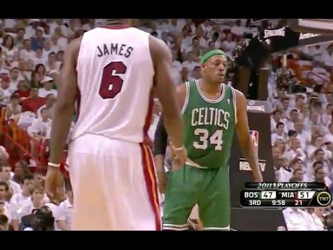 Paul Pierce Exposes LeBron's Overrated Defense -  2011 NBA ECSF