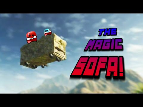 The magic sofa #stikbot