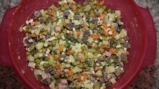 ОЛИВЬЕ салат(он же зимний он же столичный)