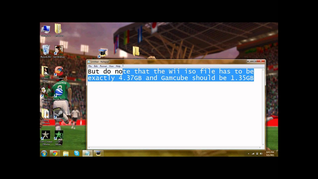 How to Burn Wii or Gamecube ISOS onto a DVD-R Disc