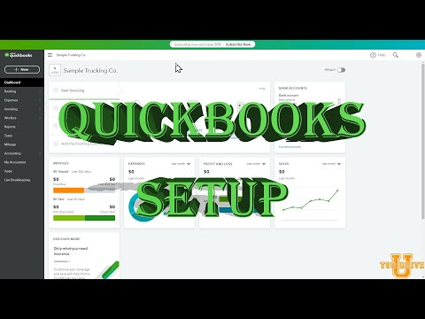 Quickbooks for Trucking: How to start your online subscription.