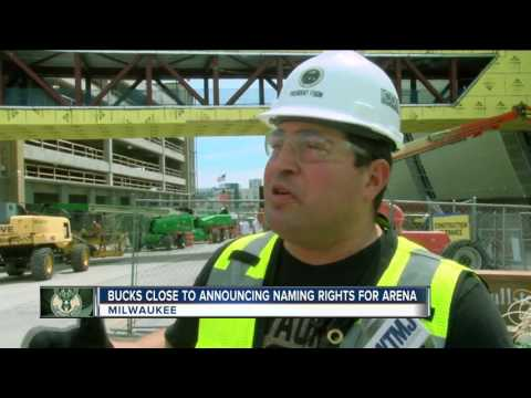 Milwaukee Bucks seek naming rights deal for new downtown arena
