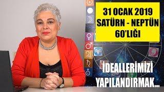31 Ocak'ta Satürn Neptün 60'lığı