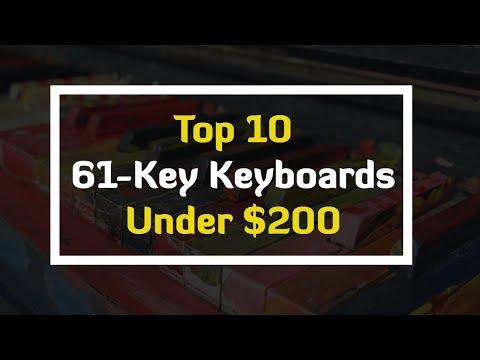 Best 61-Key Beginner Keyboards Under $200