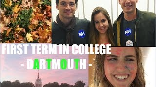 DARTMOUTH COLLEGE - A SECOND A DAY in my fall term | 16F