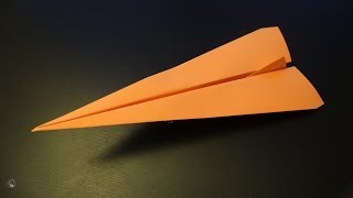 How to make an amazing fast paper plane origami ever: instruction  Darth