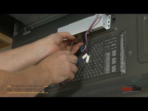Bottom Panel Light Socket - Whirlpool Microwave #WMH31017AS2