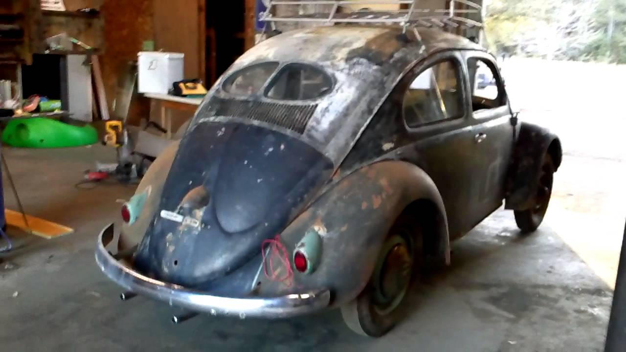 Volkswagen 1952 split window beetle youtube for 1952 split window vw bug