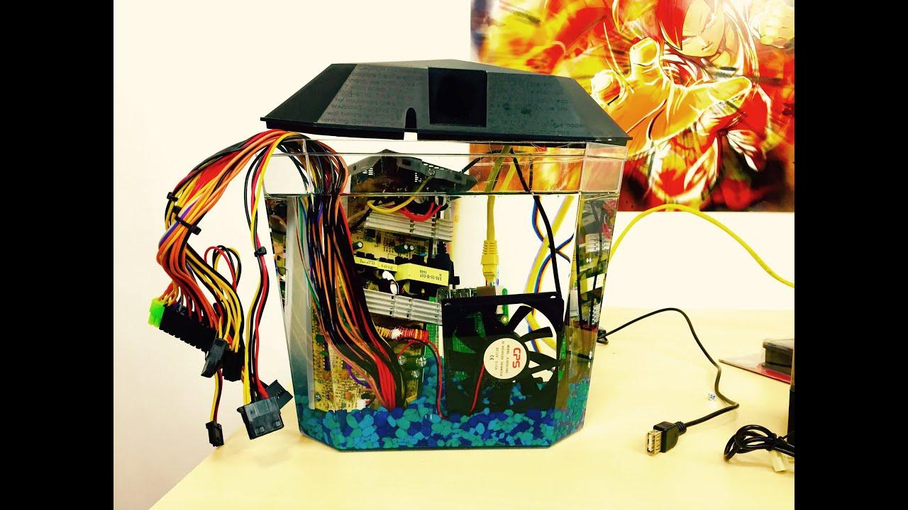 Mineral Oil Raspberry Pi 2 Build PART 1