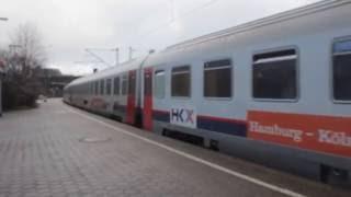HKX - Express train in Germany