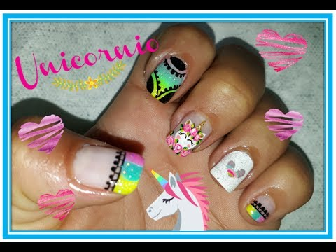 Decoraci n de u as unicornio unicorn nails 2017 unicorn - Decoracion para las unas ...