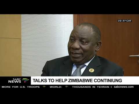 President Ramaphosa on AU, DRC, Zimbabwe, Eskom, SABC and other issues