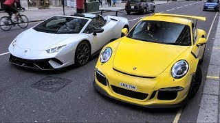 London Supercars October 2018  - Senna, Chiron, La Ferrari, F40!