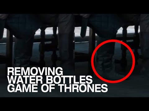 Jason Hurst - Water Bottles Accidentally Appear In Game of Thrones Finale