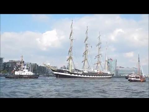 Großsegler Kruzenshtern/ Tall-ship  Kruzenshtern (Hamburg, 2017)